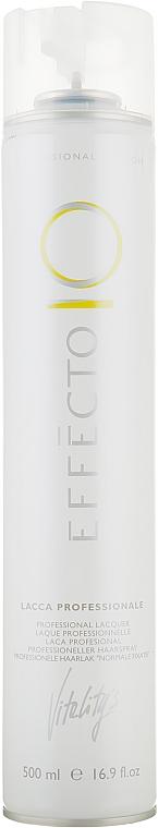 Лак для волос средней фиксации - Vitality's Effecto Lacce Professionale