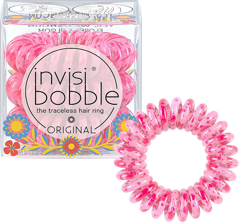 Резинка-браслет для волос, 3 шт - Invisibobble Original Flores & Bloom Yes, WeCancum HP