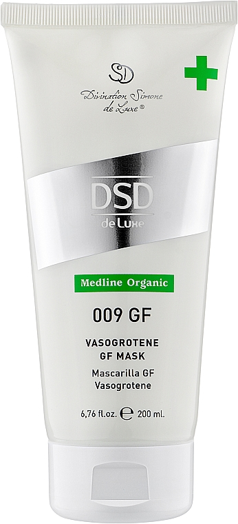 Маска Вазогротен с факторами роста № 009 - Simone DSD de Luxe Medline Organic Vasogrotene Gf Mask