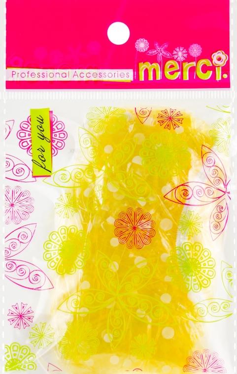Шапочка для душа, MB2260, желтая - Merci