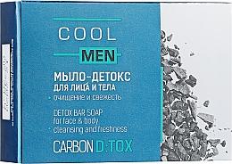 Парфумерія, косметика Мило-детокс для обличчя й тіла - Cool Men Detox Carbon