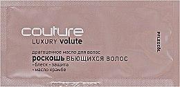 """Духи, Парфюмерия, косметика Драгоценное масло для волос """"Роскошь вьющихся волос"""" - Estel Professional Luxury Volute Haute Couture (пробник)"""