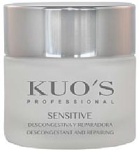 Духи, Парфюмерия, косметика Крем для лица успокаивающий - Kuo's Sensitive Cream