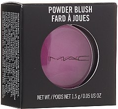Духи, Парфюмерия, косметика Румяна для лица, маленькие - M.A.C Powder Blush