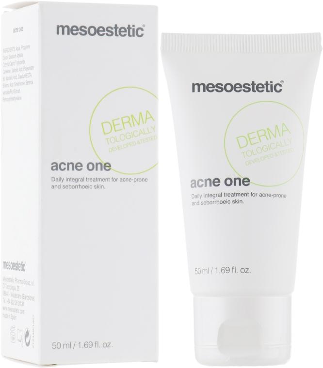Крем для кожи склонной к акне - Mesoestetic Acne One