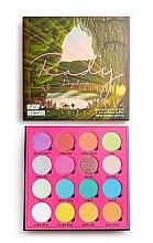 Духи, Парфюмерия, косметика Палетка теней для век, 16 цветов - Makeup Obsession X Rady Eyeshadow Palette