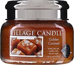 Духи, Парфюмерия, косметика Ароматическая свеча в банке - Village Candle Gold Caramel