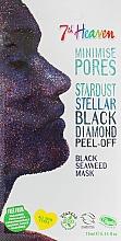 Духи, Парфюмерия, косметика Черная маска-пленка для лица - 7th Heaven Stardust Black Diamond Peel-Off Black Seaweed Mask