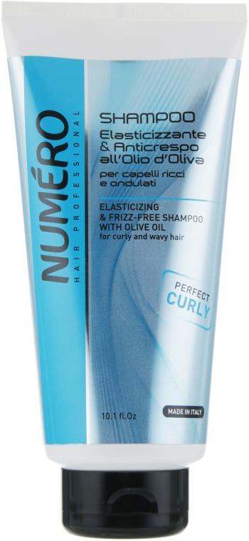 Шампунь для вьющихся волос с оливковым маслом - Brelil Numero Elasticizing Shampoo