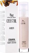 Духи, Парфюмерия, косметика Природный янтарный ночной крем - Hristina Cosmetics SM Crystal Amber Night Cream
