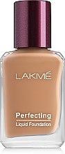 Духи, Парфюмерия, косметика Увлажняющий тональный крем для кожи лица - Lakme India Perfecting Liquid Foundation