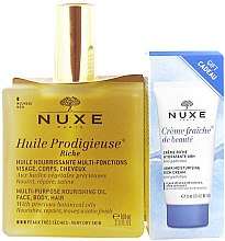 Духи, Парфюмерия, косметика Набор - Nuxe (oil/100ml+cream/15ml)