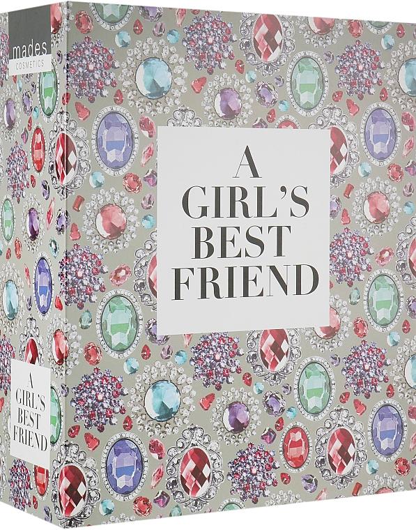 "Подарочная коробка-книга ""A girl's best friend"" - Mades Cosmetics"