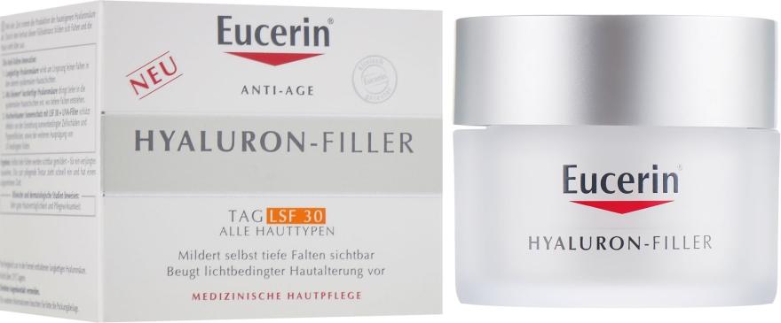 Дневной крем против морщин для всех типов кожи - Eucerin Hyaluron Filler SPF 30