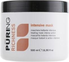 Духи, Парфюмерия, косметика Маска для волос интенсивного действия - Puring Richness Intensive Mask