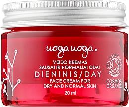 Духи, Парфюмерия, косметика Дневной крем с экстрактом клюквы и гиалуроновой кислотой для сухой и нормальной кожи - Uoga Uoga Dry & Normal Skin Day Cream
