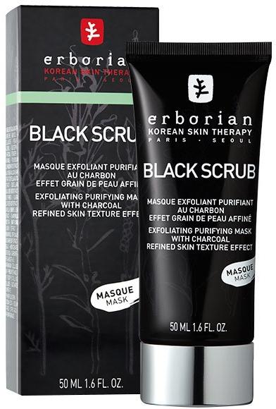 Скраб-маска очищающая с древесным углем - Erborian Black Scrub Mask
