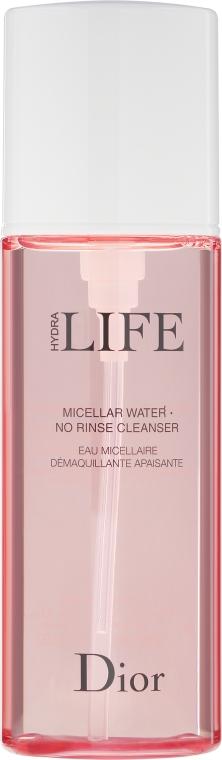Мицеллярная вода - Dior Hydra Life Micellar Water No Rinse Cleanser — фото N2