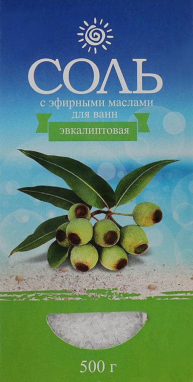 Соль морская с эфирным маслом эвкалипта - Карапуз