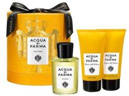 Духи, Парфюмерия, косметика Acqua Di Parma Colonia - Набор(edc/100ml+sh/gel/75ml+b/cr/75ml)