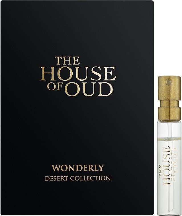 The House Of Oud Wonderly - Парфюмированная вода (пробник)