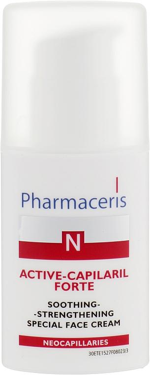 Специальный успокаивающе-укрепляющий крем для лица - Pharmaceris N Active-Capilaril Forte Cream