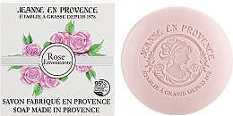 "Духи, Парфюмерия, косметика Мыло ""Роза"" - Jeanne en Provence Rose Soap"