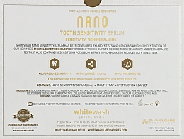 Набор для чувствительных зубов - WhiteWash Laboratories Nano (tooth serum/30 ml + mouth tray) — фото N3