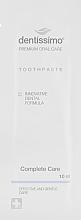 """Духи, Парфюмерия, косметика Зубная паста """"Комплексный уход"""" - Dentissimo Complete Care (пробник)"""