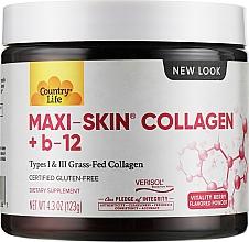 Духи, Парфюмерия, косметика Коллаген + витамины - Country Life Maxi-Skin Collagen + С&А Powder
