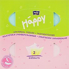 Салфетки универсальные двухслойные, свинка - Bella Baby Happy — фото N3