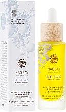 Духи, Парфюмерия, косметика Аргановое масло - Naobay Detox Renewal Argan Oil