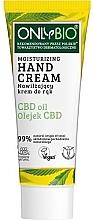 Духи, Парфюмерия, косметика Увлажняющий крем для рук - Only Bio Only Eco CBD Oil