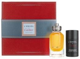 Духи, Парфюмерия, косметика Cartier L`Envol de Cartier Eau de Parfum - Набор (edp/80ml + deo/75ml)