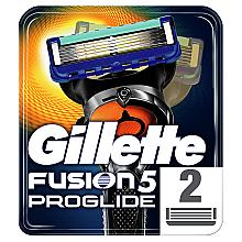 Духи, Парфюмерия, косметика Сменные кассеты для бритья, 2 шт. - Gillette Fusion ProGlide