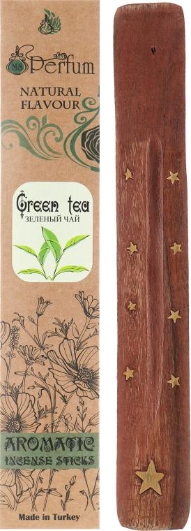 """Аромапалочки с деревянной подставкой """"Зеленый чай"""" - MSPerfum"""