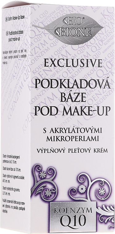 База под макияж - Bione Cosmetics Exclusive Make-Up Base