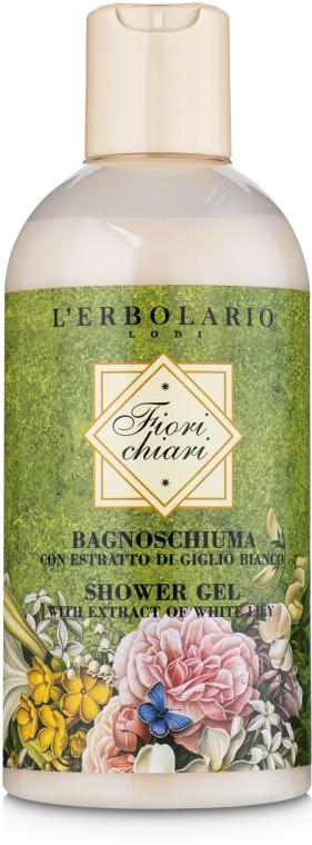 """Пена для ванны-гель для душа """"Белые цветы"""" - L'Erbolario Bagnoschiuma Fiorichiari"""