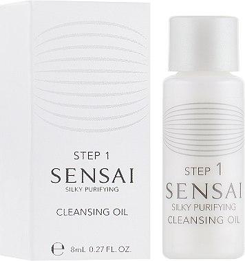 Очищающее масло - Kanebo Sensai Cleansing Oil (пробник) — фото N1