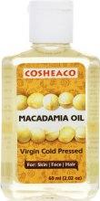 Духи, Парфюмерия, косметика Масло Макадамии холодного отжима для лица, тела и волос, нерафинированное - Cosheaco Macadamia Oil