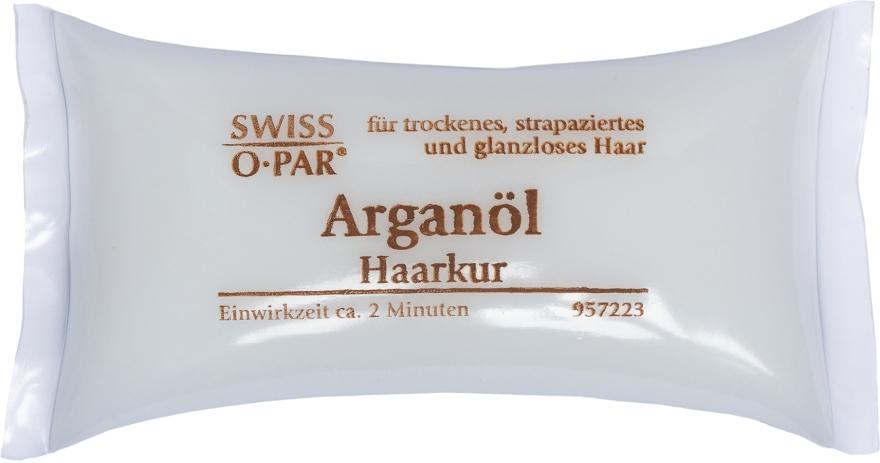 Маска для сухих, поврежденных и тусклых волос с аргановым маслом - Swiss-o-Par Haarkur Arganol