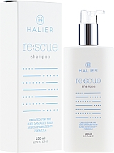 Духи, Парфюмерия, косметика Восстанавливающий шампунь для сухих и поврежденных волос - Halier Re:scue Shampoo