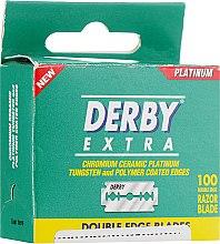 Парфумерія, косметика Леза - Derby Extra Double Edge Platinum