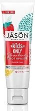 "Духи, Парфюмерия, косметика Детская зубная паста ""Клубника"" - Jason Natural Cosmetics Kids Only Toothpaste Strawberry"