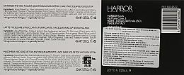 Набор - Phytorelax Laboratories Bio Detox Charcoal (f/gel/40ml + f/milk/40ml + mask/20ml + bag) — фото N7