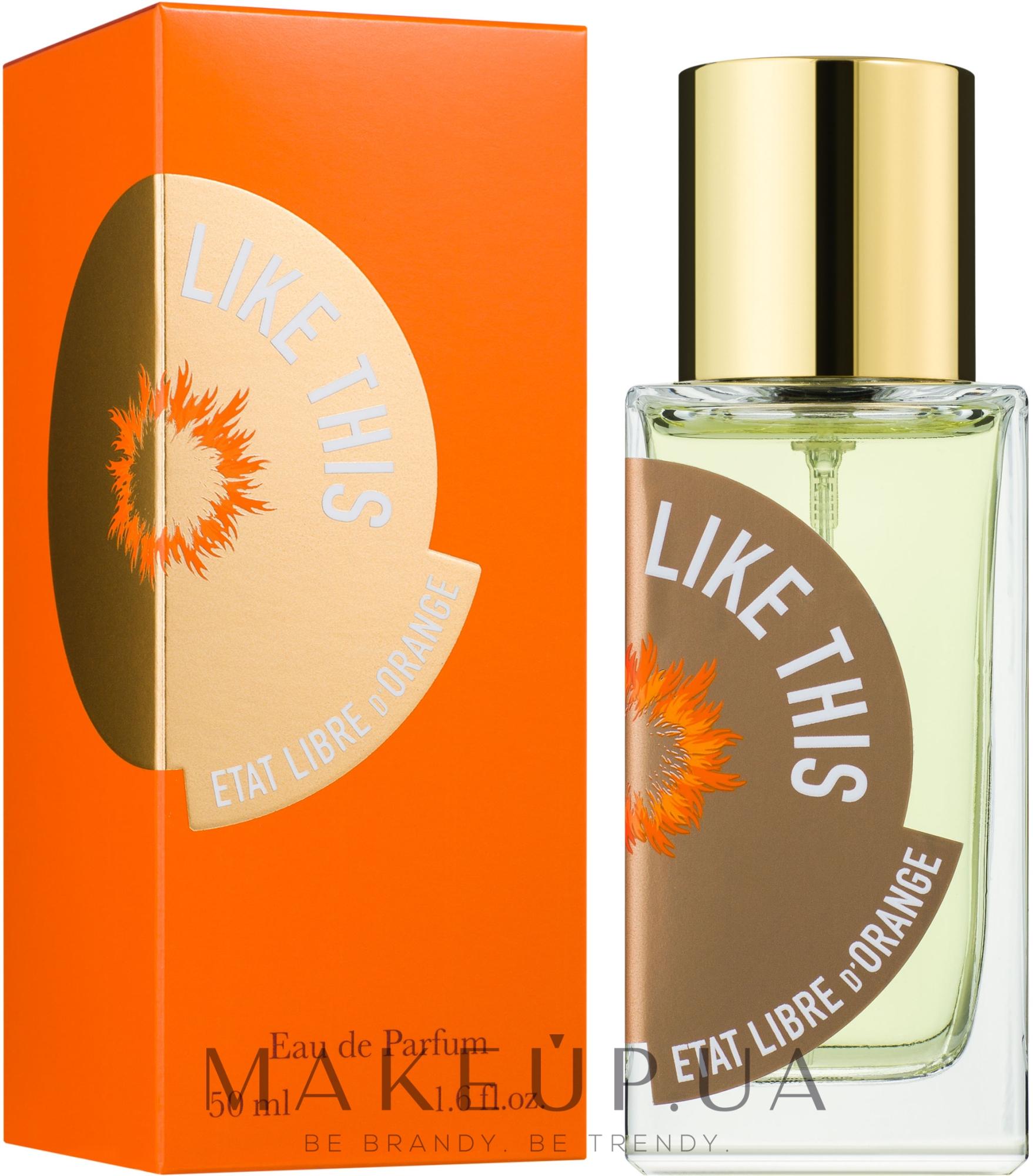 Etat Libre d`Orange Tilda Swinton Like This - Парфумована вода — фото 50ml