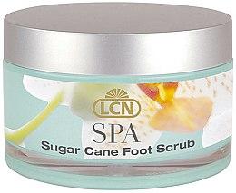 Духи, Парфюмерия, косметика Увлажняющий скраб для ног с кристаллами сахара и маслом мяты - LCN SPA Sugar Cane Foot Scrub
