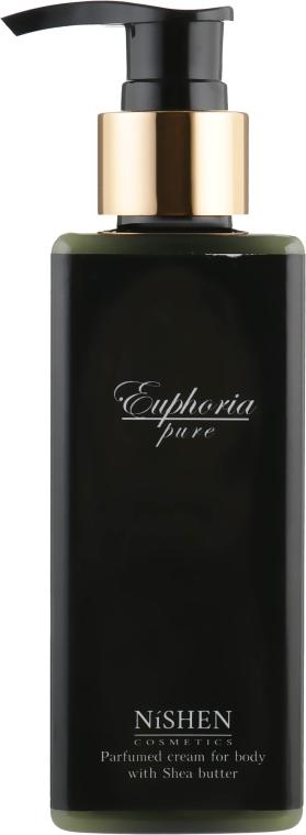 """Парфюмированный крем для тела """"Эйфория"""" - Nishen Euphoria Parfumed Cream For Body With Shea Butter"""