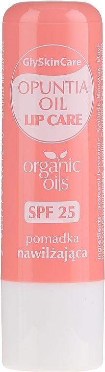 Бальзам для губ с органическим маслом опунции - GlySkinCare Organic Opuntia Oil Lip Care