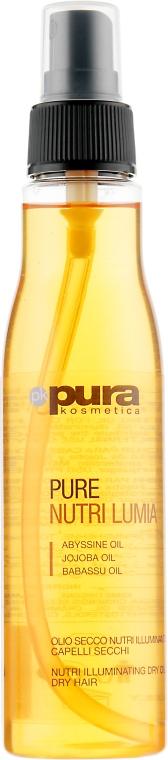 Сухое масло для придания блеска сухих волос - Pura Kosmetica Nutri Lumia Dry Oil Dry Hair